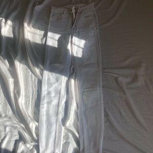 Zara Pants - Zara white jeans size 24 or SMALL.